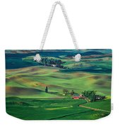 Palouse - Washington - Farms - 4 Weekender Tote Bag