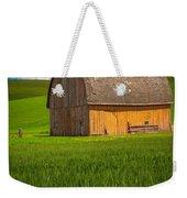 Palouse Yellow Barn Weekender Tote Bag
