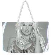 Pamela Anderson - Angel Rays Of Light Weekender Tote Bag