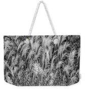 Pampas Grass Monochrome Weekender Tote Bag