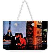 Pan Am To Paris Weekender Tote Bag
