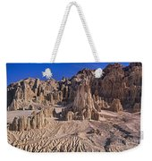 Panaca Formations In Cathedral Gorge State Park Nevada Weekender Tote Bag