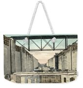 Panama Canal Locks Weekender Tote Bag