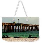 Panama City Beach Pier 2  Weekender Tote Bag