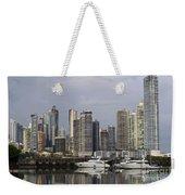 Panama City Skyline Panama Weekender Tote Bag
