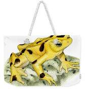 Panamanian Golden Frog Weekender Tote Bag