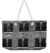 Pancake Flour Black And White Weekender Tote Bag
