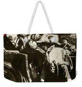 Pancho Villa Ambushed July 20 1923 1923 Dodge Touring Car 1923-2013 Weekender Tote Bag