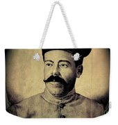 Pancho Villa In Military Uniform Drawing No  Date-2013  Weekender Tote Bag