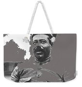 Pancho Villa  Portrait In Military Uniform No Location Or Date-2013 Weekender Tote Bag