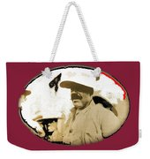 Pancho Villa   Portrait Unknown Mexico Location And Date-2013  Weekender Tote Bag