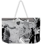 Pancho Villa  Shooting Pistol Mexico City 1914-2013 Weekender Tote Bag