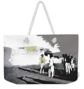 Pancho Villa Talking To Firing Squad Sonora C.1914-2013 Weekender Tote Bag