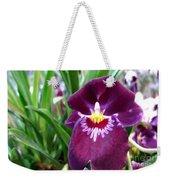 Pancy Orchid Weekender Tote Bag