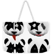 Panda Kiss  Weekender Tote Bag