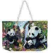 Panda Valley Weekender Tote Bag