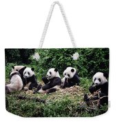 Pandas In China Weekender Tote Bag