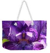 Pandora's Purple Weekender Tote Bag