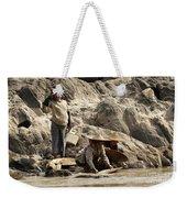 Panning For Gold Mekong River 2 Weekender Tote Bag