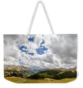 Panorama Atop Independence Pass Weekender Tote Bag