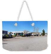Panorama Cedar Cove Rv Park Street 4 Weekender Tote Bag