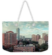 Panorama-dt-toronto Looking East Weekender Tote Bag