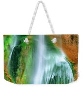 Panorama Lower Calf Creek Falls Escalante Nm Utah Weekender Tote Bag