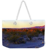 Panorama Morning View Of Mountains Weekender Tote Bag