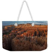 Panorama Of Bryce Canyon Amphitheater Weekender Tote Bag