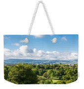 Panorama Of Phoenix Park And Wicklow Mountains Weekender Tote Bag