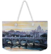 Panorama Of Rome Weekender Tote Bag