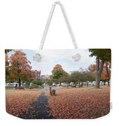 Panorama Of Taylor Park St Albans Vermont Weekender Tote Bag