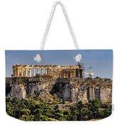 Panorama Of The Acropolis In Athens Weekender Tote Bag