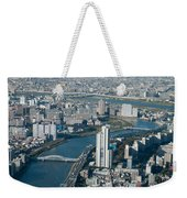Panorama Of Tokyo Weekender Tote Bag