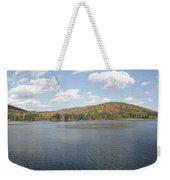 Panorama Red House Lake Allegany State Park Weekender Tote Bag