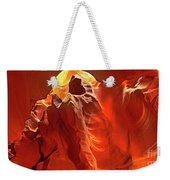 Panorama Slot Canyon Arizona Weekender Tote Bag