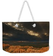 Panorama Storm Clouds Over Bryce Canyon National Park Utah Weekender Tote Bag