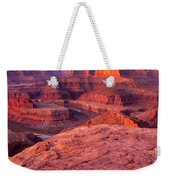 Panorama Sunrise At Dead Horse Point Utah Weekender Tote Bag