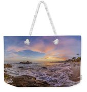 Panorama The Whole Way Round The Cove Weekender Tote Bag