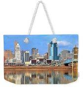 Panoramic Cincinnati Weekender Tote Bag