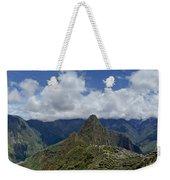 Panoramic Machu Picchu Weekender Tote Bag