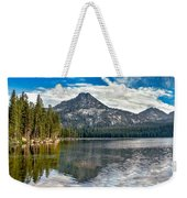 Panoramic Of Anthony Lake Weekender Tote Bag