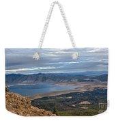 Panoramic Of Henry's Lake Weekender Tote Bag
