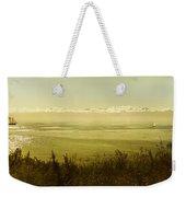 Panoramic Of Sailing Ship, Beacon Hill Weekender Tote Bag