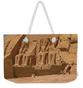 Panoramic Photograph Of Famous Egyptian Monument Weekender Tote Bag