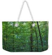 Panoramic Shot With Green Trees Weekender Tote Bag
