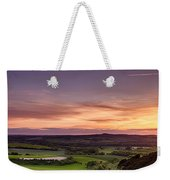 Panoramic Sunset Over England Weekender Tote Bag