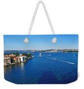 Panoramic Sydney Harbour Weekender Tote Bag