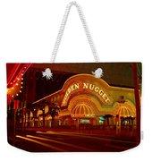 Panoramic View Of Golden Nugget Casino Weekender Tote Bag