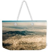 Panoramic View Of Landscape Of Mountain Range Weekender Tote Bag